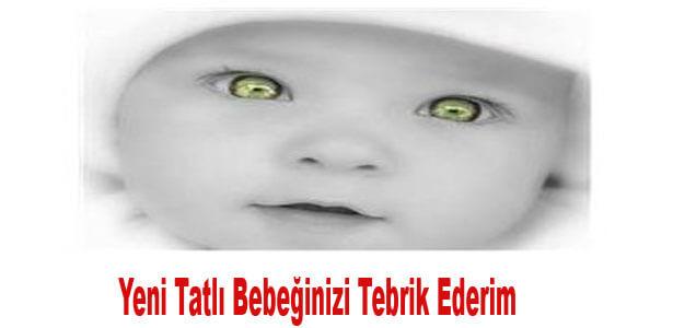 yeni doğan bebek için resimli tebrik mesajları